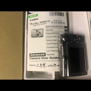 Canon Powershot 5MP Digital Camera